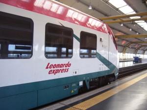Trenes Leonardo Express de Roma