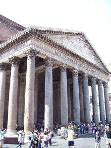 Pantheon romano, también conocido como Templo de Agripa