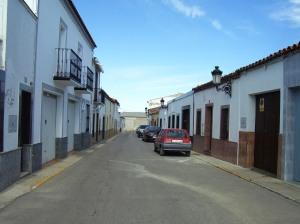 La calle de mi abuelo, en la Puebla de Sancho Pérez