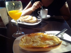 Desayuno en Zafra (13.09.2013)