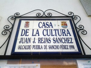 Entrada a la Casa de la Cultura, PSP