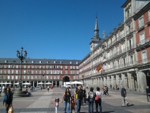 Plaza Mayor, Madrid (18.9.2013)