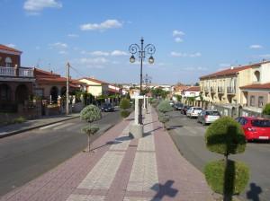 Panorámica del pueblo desde el Vía Crucis