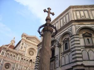 Vista del Duomo y del Batisterio de San Giovanni (17.7.2013)