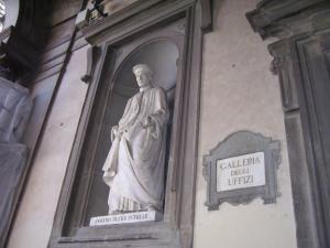 Entrada a la Galleria degli Uffizi