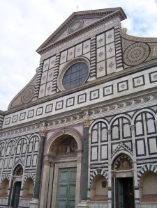 Fachada de la basílica Santa Maria Novella