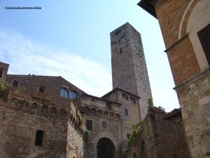 San Gimignano, en julio de 2013