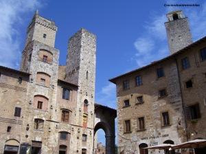 Torres de San Gimignano, julio de 2013