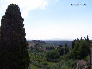 La Toscana, vistas desde San Gimignano