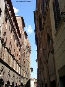 Callejeando por Siena, en julio de 2013