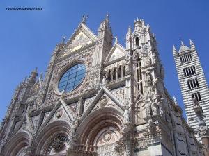 Fachada de la Catedral de Siena