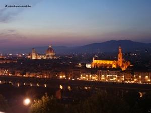 Vistas de Florencia desde Piazzale Michelangelo