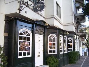 El pub Elizabeth, en Zafra