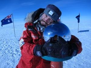Albert Bosch en el Polo Sur (2011)
