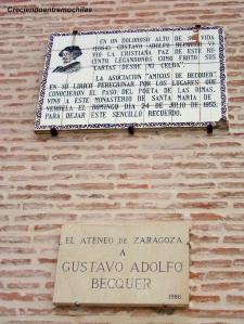Homenajes a Bécquer en el Monasterio de Veruela