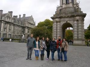 Comenzando nuestra visita por el Trinity College