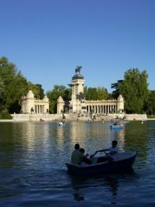 Estanque del Parque del Retiro, Madrid