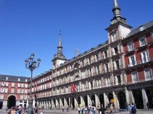 Vista de Plaza Mayor, Madrid (30.4.2014)