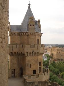 Torre del Castillo de Olite, Navarra