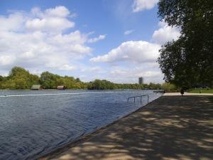 El lago Serpentine, en Hyde Park