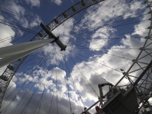 Primer plano del London Eye (09.05.2014)