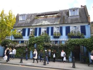 Casa pintoresca en Notting Hill (10.05.2014)