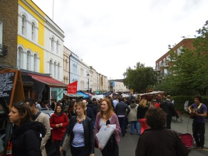 Mercadillo de Portobello Road, Londres (10.05.2014)