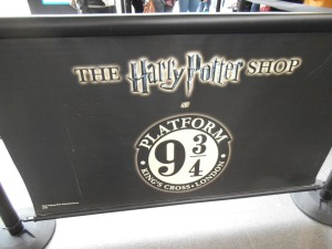 Harry Potter en King's Cross