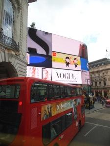 Puro color en Piccadilly