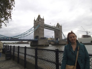 Contra viento y marea al fin en Tower Bridge (11.05.2014)