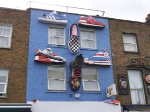 Zapatillas en el lugar más inesperado
