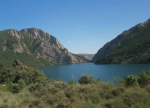 Vistas del Valle de Arán desde el autobús (15.07.2014)