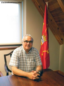 Eduardo Valdecantos, consejero de Bienestar Social del Conselh Generau d'Aran (15.7.2014)