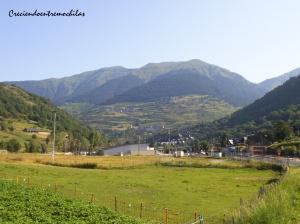 Impresionantes vistas del valle desde Vielha (17.07.2014)