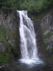 La cascada en julio de 2.009
