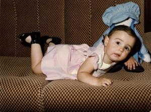 Así era yo cuando tenía la misma edad que este blog: un añito