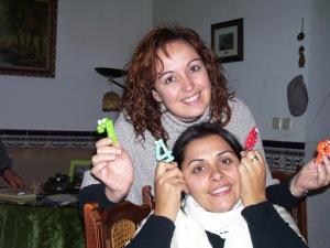 Compartiendo momentos importantes con mi familia, en este caso el 40º cumpleaños de mi tía Esther (noviembre 2013)