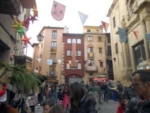 Perspectiva de la Feria Medieval de Vic (edición 2014)