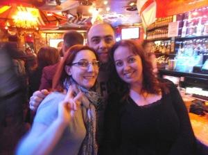 Con Arturo y Caro en Londres (mayo)