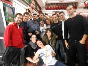 Una tarde increíble en Madrid (noviembre)