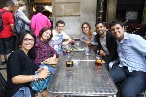 Terraceando por Barcelona... :)