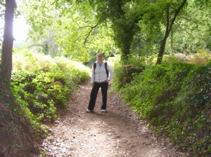 De caminata por La Garrotxa, Girona