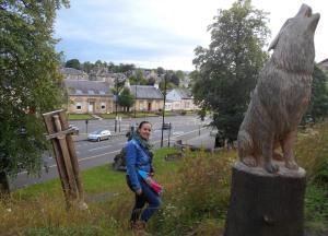 Disfrutando de Stirling, Escocia